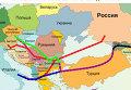 Поставки Газпрома в Европу в обход Украины. Инфографика