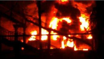 Пожар в Шебелинке