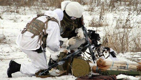 Боевые разведчики в зоне АТО