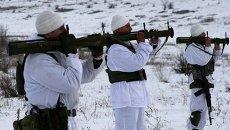Учения боевых разведчиков в зоне АТО. Архивное фото