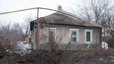Последствия обстрелов в Луганской области. Архивное фото