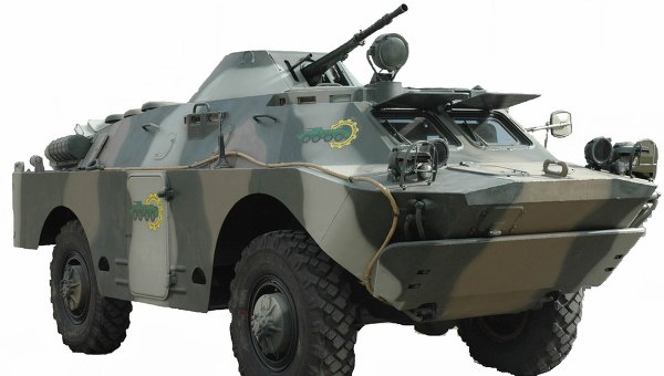 Бронированная разведывательно-дозорная машина БРДМ-2Ді Хазар