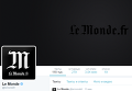 Twitter газеты Le Monde. Скриншот микроблога