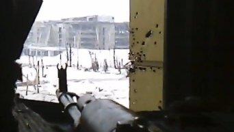 Ополченцы штурмуют новый терминал донецкого аэропорта. Видео