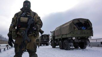 Ополченцы Донбасса. Архивное фото