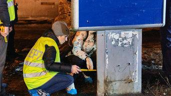 Последствия взрыва у здания Московского райсуда в Харькове. Архивное фото