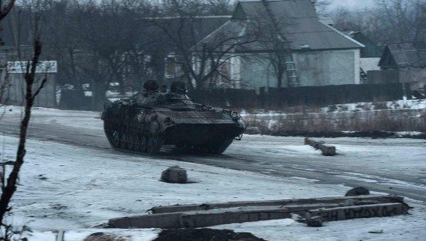 БМП ВСУ в Донецкой области