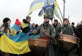 Акция ко Дню Соборности Украины. Архивное фото