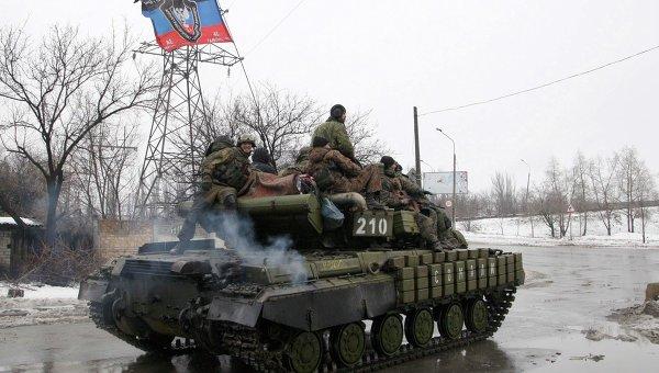 Ополчение в Донецке. Архивное фото