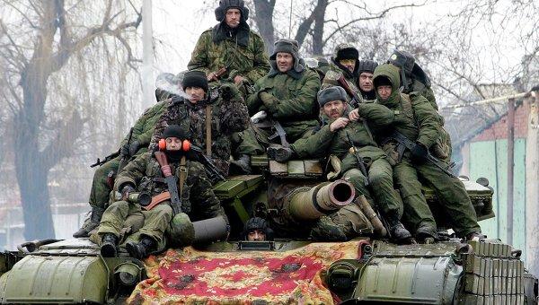 Ополчение в Донецке