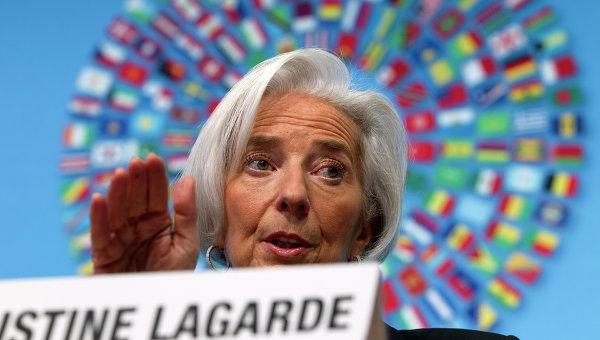 Директор-распорядитель МВФ Кристин Лагард. Архивное фото