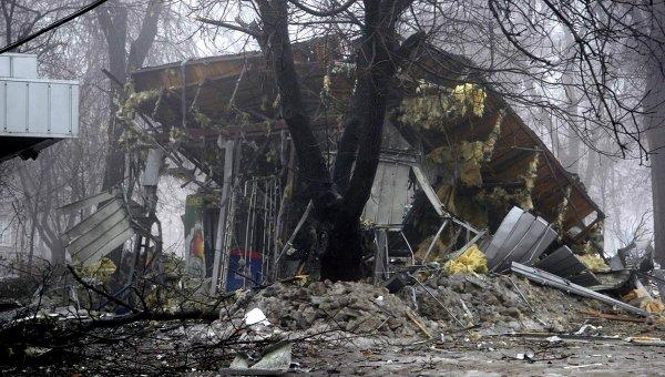 ВСУ открыли огонь попригороду Донецка вовремя проведения там инспекции ОБСЕ