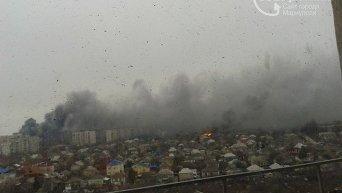 Мариуполь после обстрела из Градов