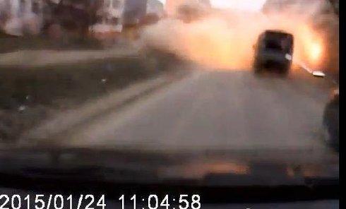 Обстрел Мариуполя. Видео