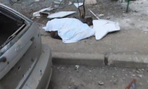 Последствия обстрела Мариуполя. Видео