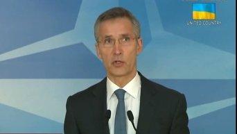 Выступление Генсека НАТО по ситуации в Украине. Видео