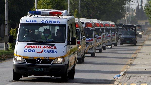 Автомобили скорой помощи в Пакистане
