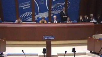 Как ПАСЕ не признала ДНР и ЛНР террористическими организациями. Видео