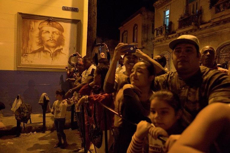 Факельное шествие на Кубе