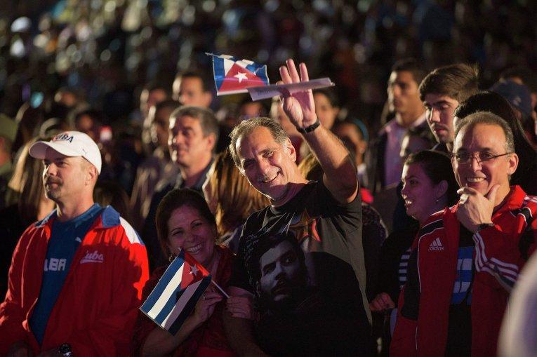 Факельное шествие на Куб