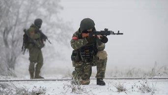 Украинские военнослужащие в зоне АТО