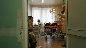 Военный госпиталь. Архивное фото