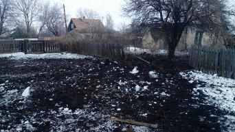 Обстрел в Луганской области