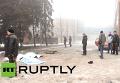 В Донецке под обстрел попали троллейбус и Дом культуры, есть жертвы. Видео