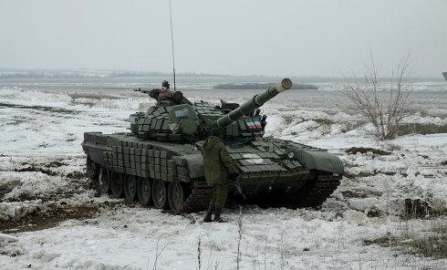 Енакиево подверглось артобстрелу