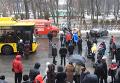 В Полтаве перекрыли центральную улицу против непризнания РФ агрессором