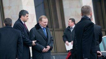 Встреча трехсторонней группы в Минске