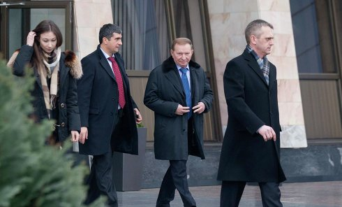 Встреча контактной группы в Минске