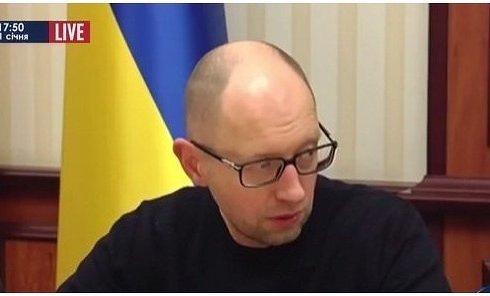 Яценюк рассказал об эвакуации из Дебальцево