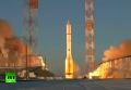 Старт ракеты Протон-М с британским спутником связи. Видео