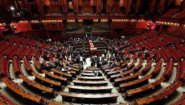 Парламент Италии. Архивное фото