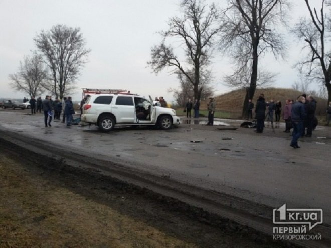 Место гибели Андрея Кузьменко