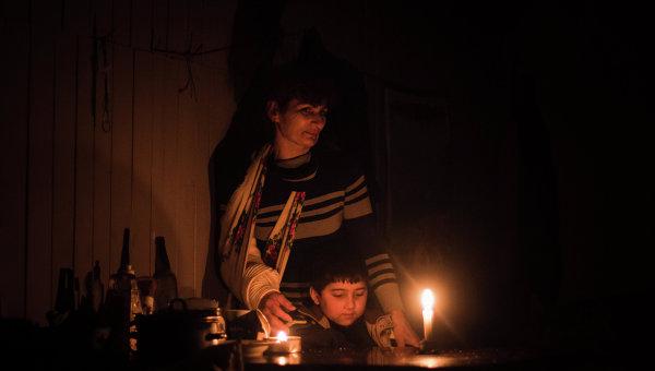 Оккупанты обесточили наподконтрольной Украине территории Луганской области Трехизбенку, Кряковку иКалаус