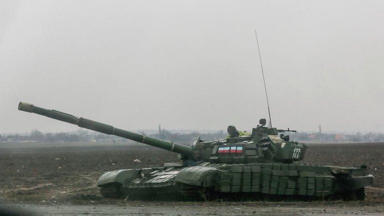 Обстрел Енакиево