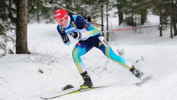 Украинский биатлонист Артем Тищенко