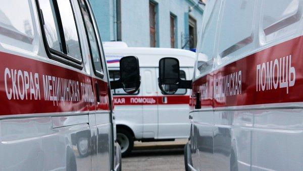 Автомобили российской скорой помощи