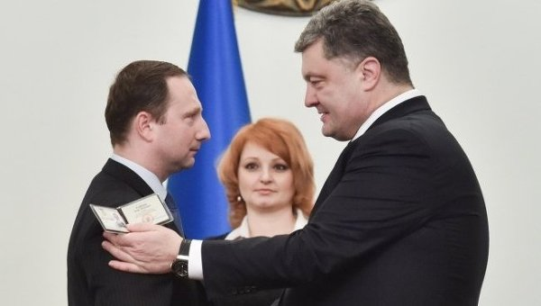 Петр Порошенко и Игорь Райнин