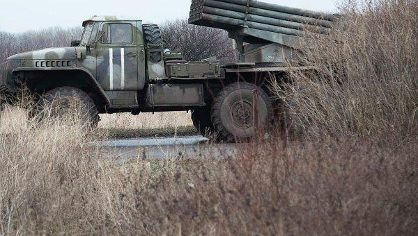 Украинские военнослужащие в Артемовске Донецкой области. Архивное фото