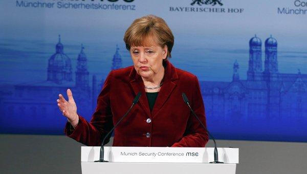 Ангела Меркель на Мюнхенской конференции по безопасности