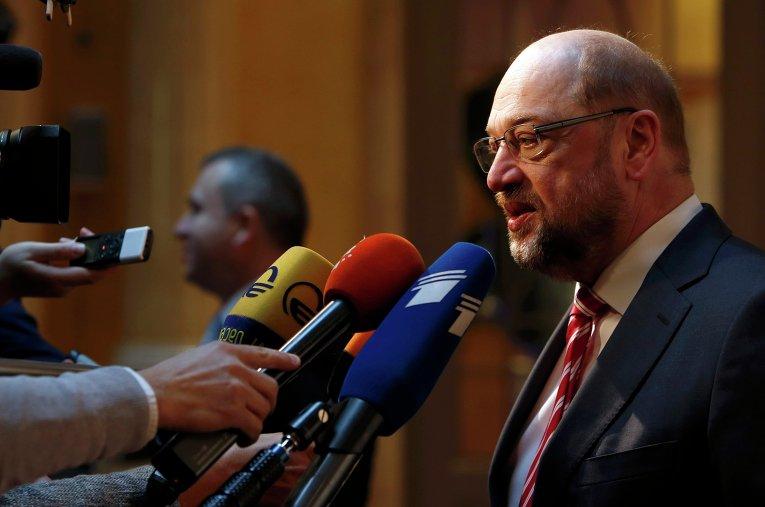 Президент Европарламента Мартин Шульц