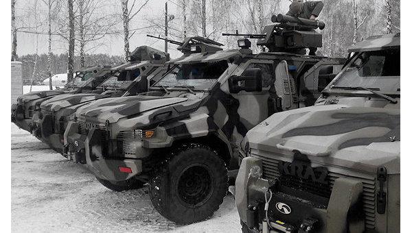 Бронеавтомобили Спартан