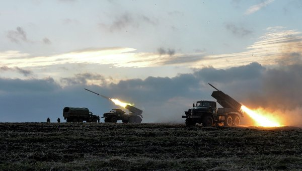 Техника украинских военнослужащих. Архивное фото