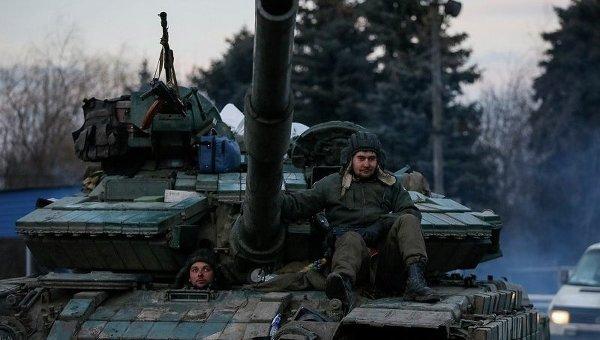 Украинский военнослужащий в Артемовске
