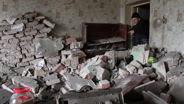 В Донецке за день под обстрелами погиб один житель