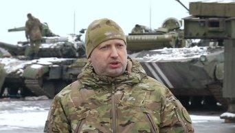 Турчинов про оборону Мариуполя. Видео