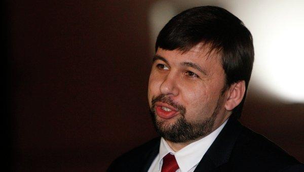 Денис Пушилин после встречи контактной группы по Восточной Украине в Минске 10 февраля